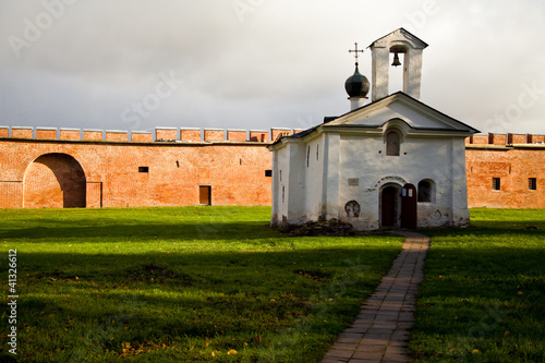 Old church in Kremlin Novgorod