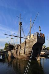 Carabelas de Colón, descubrimiento de América
