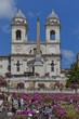 Roma, Trinità dei Monti, veduta
