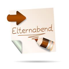 post it - elternabend