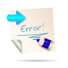 post it - ERROR