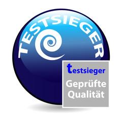 button testsieger - geprüfte qualität