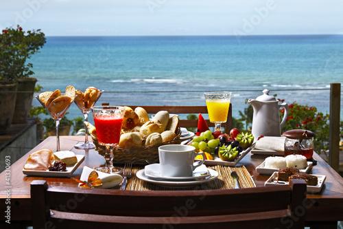 Plexiglas Boord Café da manhã