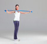 Training mit Theraband 7
