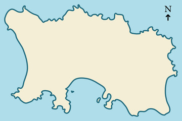 Jersey, Channel Islands - Outline