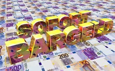 3D Geldboden - SOFORT BARGELD