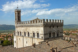Fototapety Consul Palace in the historic center of Gubbio