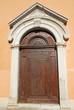 Italy, Ravenna old medieval door