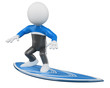 3D Surfer - Surfing