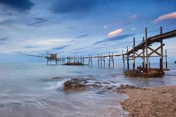 Trabocco, antico metodo di pesca italiano