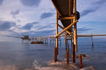Trabucco, antico metodo di pesca italiano