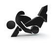 judo symbol 3d