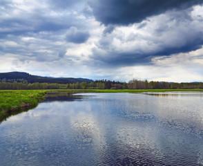 broad river Vltava.
