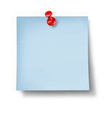 Blank Blue Office Note