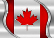 Canada Metal Flag