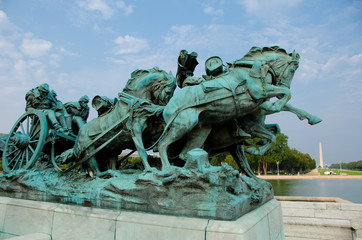 Ulysses S. Grant Cavalry Memorial  in Washington DC