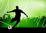 soccer background - 41351417