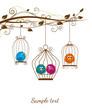 obraz - colorful birds in ...