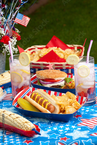 Picnic on 4th of July