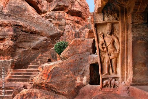 Felsentempel von Badami, Indien