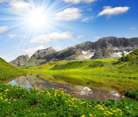 Lago di Spinale - Dolomites Italy