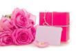 buoquet of roses,giftbox