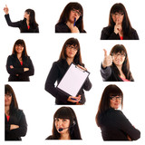 Business woman Collage