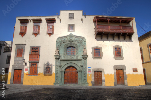 Historic house, Las Palmas, Gran Canaria, Spain