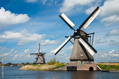 traditional old windmills - 41363814