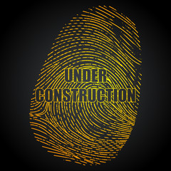 Under Construction Finger Print