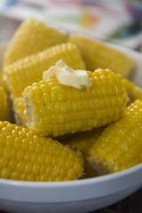 Close corn