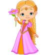 Beautiful little princess