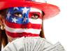 Rich American woman