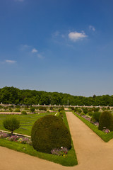 Diane de Poitiers garden - Chenonceau Castle
