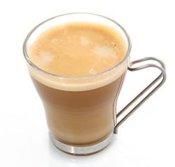Verre de café au lait
