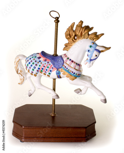 colorful Carousel Horse