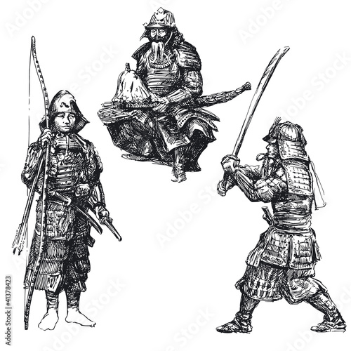japanese warrior - samurai