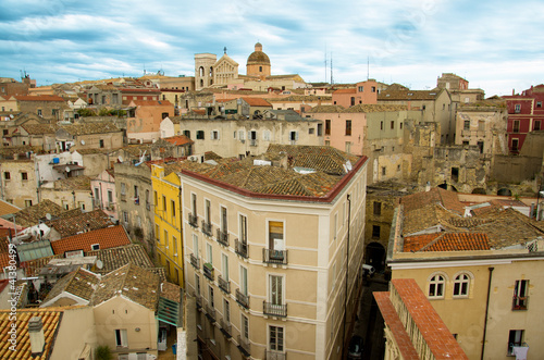 Cagliari, scorcio del quartiere storico di Castello