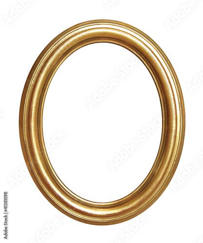 cadre ovale ancien dor photo libre de droits sur la banque d 39 images image 41381098. Black Bedroom Furniture Sets. Home Design Ideas