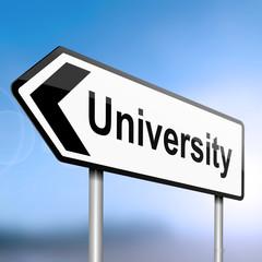 University concept.