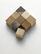 wooden cubes - cubi di legno