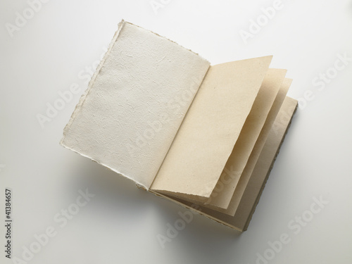 open notebook - quaderno aperto