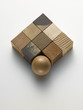 cubes and wooden ball - cubi e sfera di legno