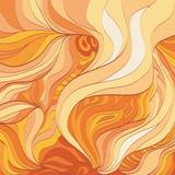 Fototapety Абстрактный фон - пламя