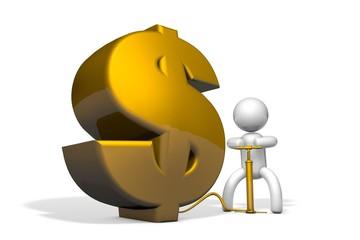 Pump U.S. dollar