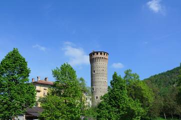 La torre di Priero nel cuneese