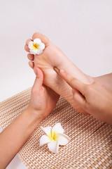 Thai massage foot