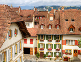 old town Murten, Switzerland