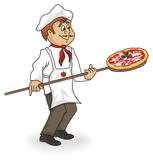 pizzaiolo cartoon