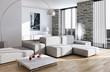 High Key Modern living room